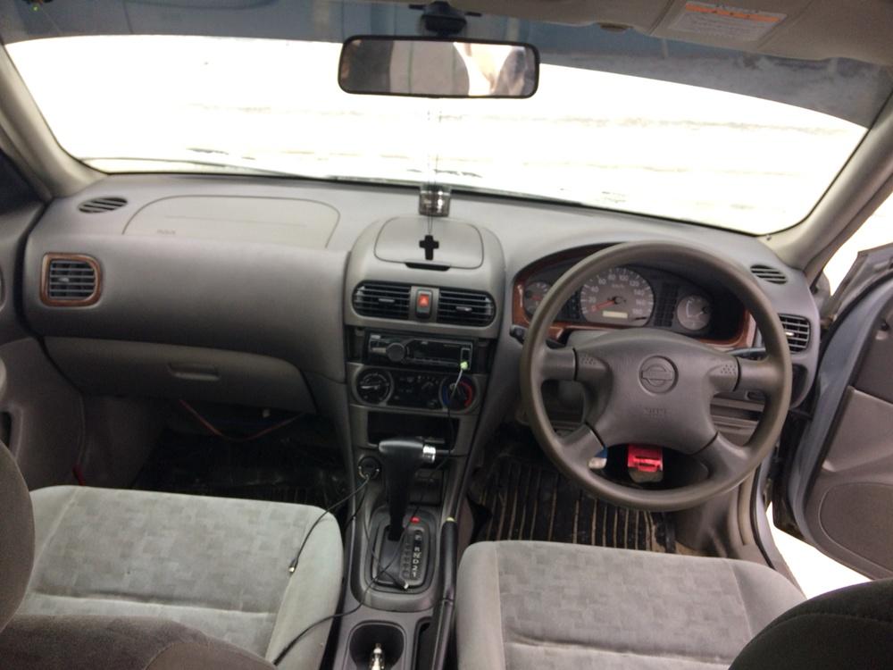 Подержанный Nissan Sunny, среднее состояние, серебряный , 1999 года выпуска, цена 110 000 руб. в ао. Ханты-Мансийском Автономном округе - Югре