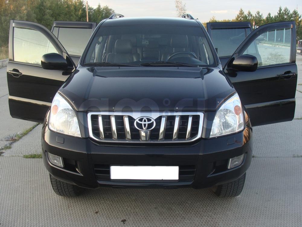 Подержанный Toyota Land Cruiser Prado, хорошее состояние, черный , 2007 года выпуска, цена 1 320 000 руб. в ао. Ханты-Мансийском Автономном округе - Югре