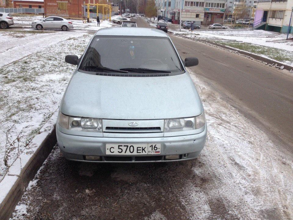 Подержанный ВАЗ (Lada) 2110, хорошее состояние, серебряный , 2002 года выпуска, цена 70 000 руб. в республике Татарстане