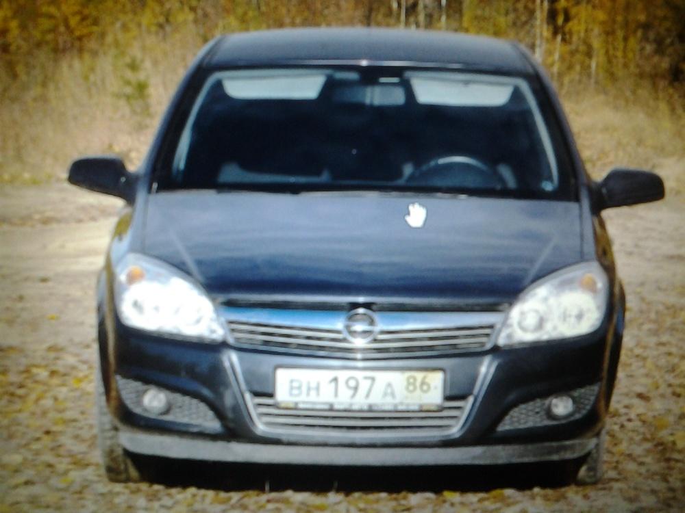 Подержанный Opel Astra, хорошее состояние, синий металлик, 2008 года выпуска, цена 280 000 руб. в ао. Ханты-Мансийском Автономном округе - Югре