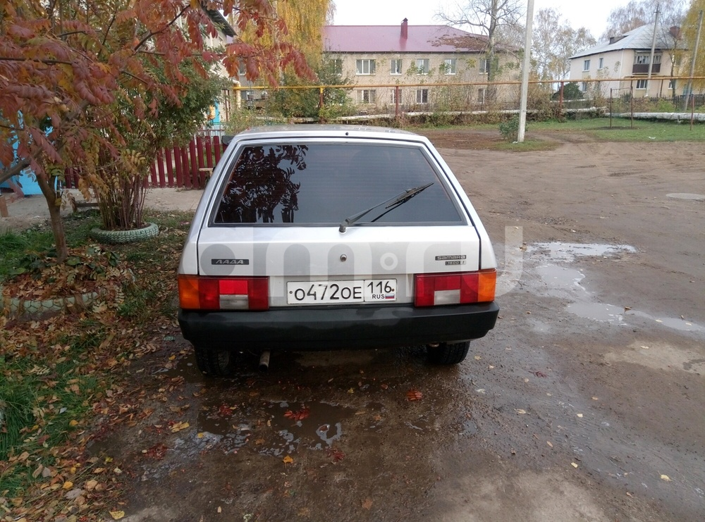 Подержанный ВАЗ (Lada) 2109, отличное состояние, серебряный , 2003 года выпуска, цена 85 000 руб. в республике Татарстане