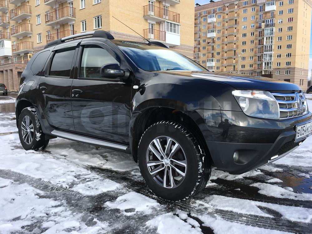 Подержанный Renault Duster, отличное состояние, черный , 2012 года выпуска, цена 650 000 руб. в Смоленской области