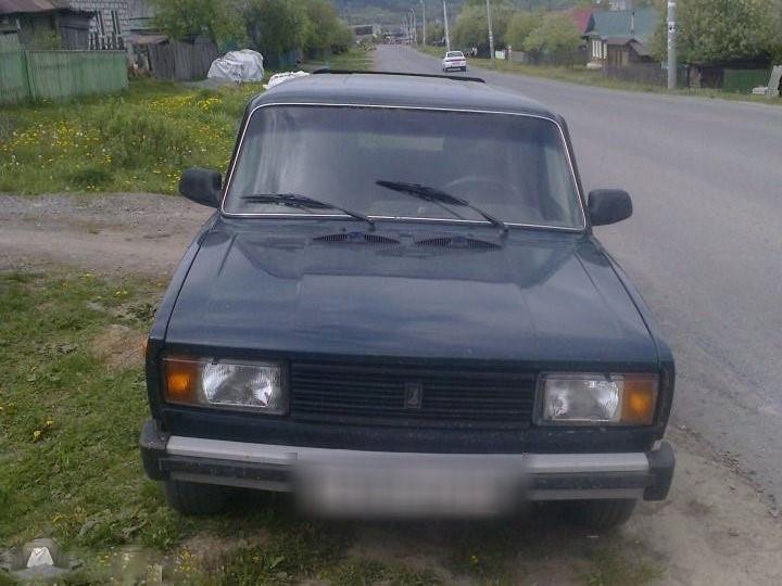 Подержанный ВАЗ (Lada) 2104, хорошее состояние, зеленый , 2004 года выпуска, цена 60 000 руб. в Челябинской области