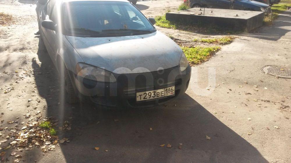 Подержанный Dodge Stratus, отличное состояние, голубой , 2001 года выпуска, цена 180 000 руб. в ао. Ханты-Мансийском Автономном округе - Югре