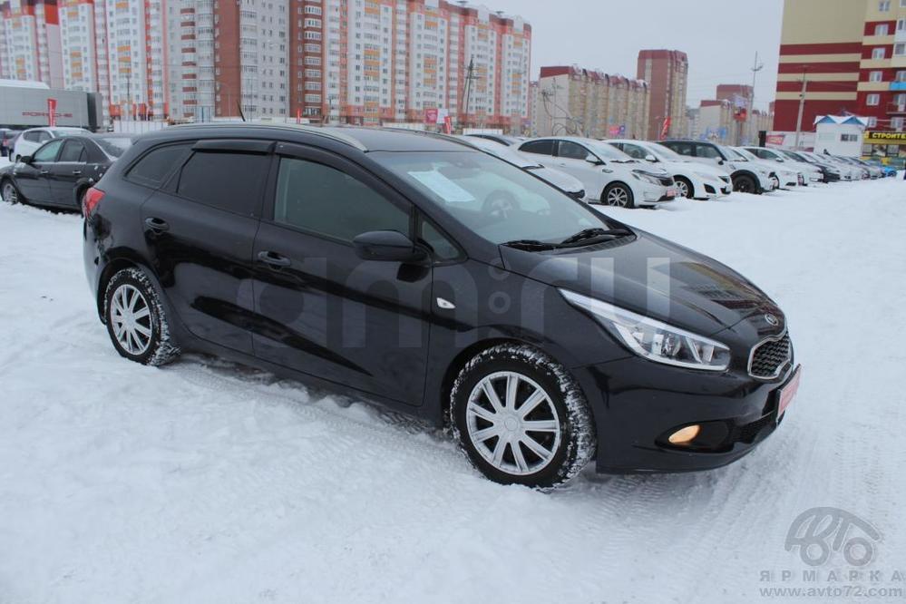 Kia Cee'd с пробегом, черный , хорошее состояние, 2012 года выпуска, цена 515 000 руб. в автосалоне  ()