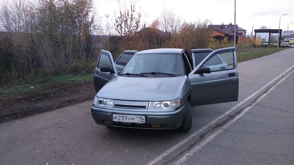 Подержанный ВАЗ (Lada) 2110, отличное состояние, серый металлик, 2012 года выпуска, цена 210 000 руб. в республике Татарстане