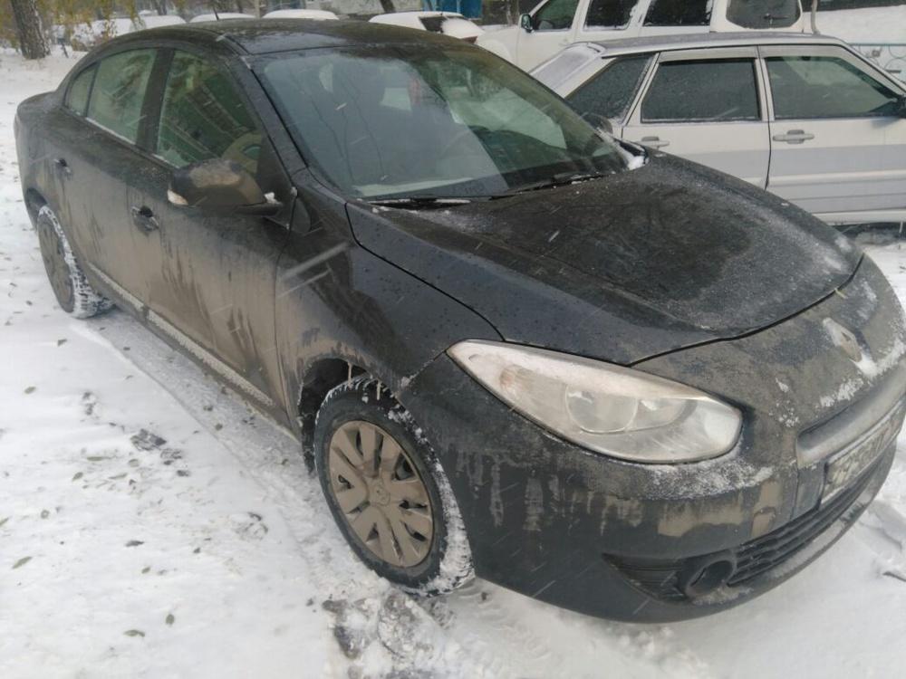 Подержанный Renault Fluence, отличное состояние, черный , 2011 года выпуска, цена 380 000 руб. в республике Татарстане