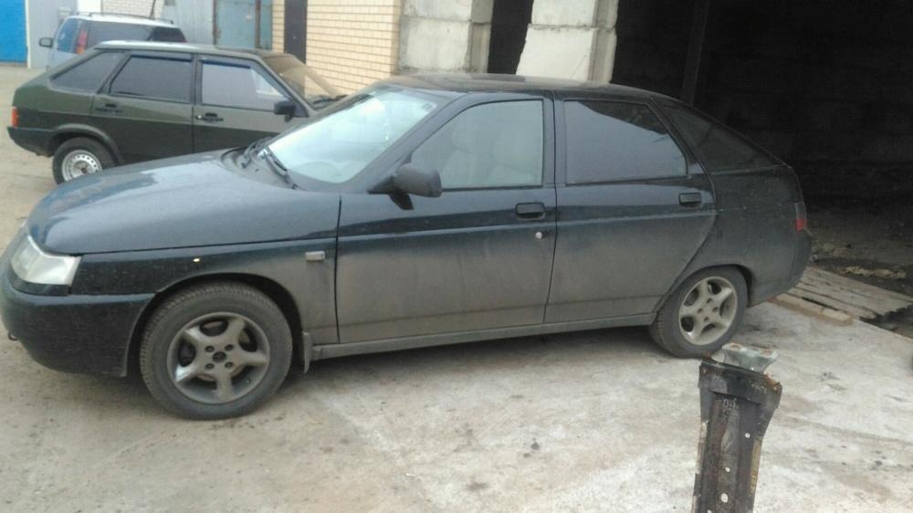 Подержанный ВАЗ (Lada) 2112, отличное состояние, черный , 2008 года выпуска, цена 175 000 руб. в республике Татарстане