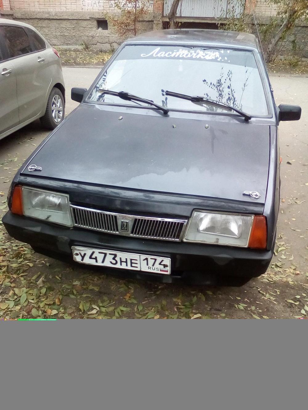 Подержанный ВАЗ (Lada) 2109, хорошее состояние, сиреневый , 2000 года выпуска, цена 45 000 руб. в Челябинской области