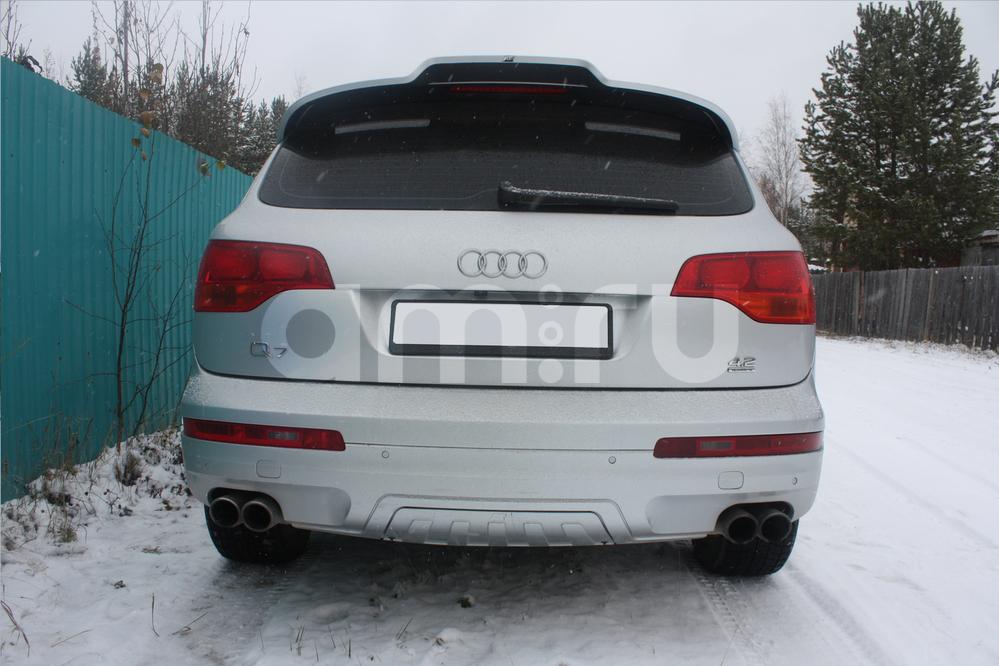 Подержанный Audi Q7, отличное состояние, серебряный , 2007 года выпуска, цена 1 250 000 руб. в ао. Ханты-Мансийском Автономном округе - Югре