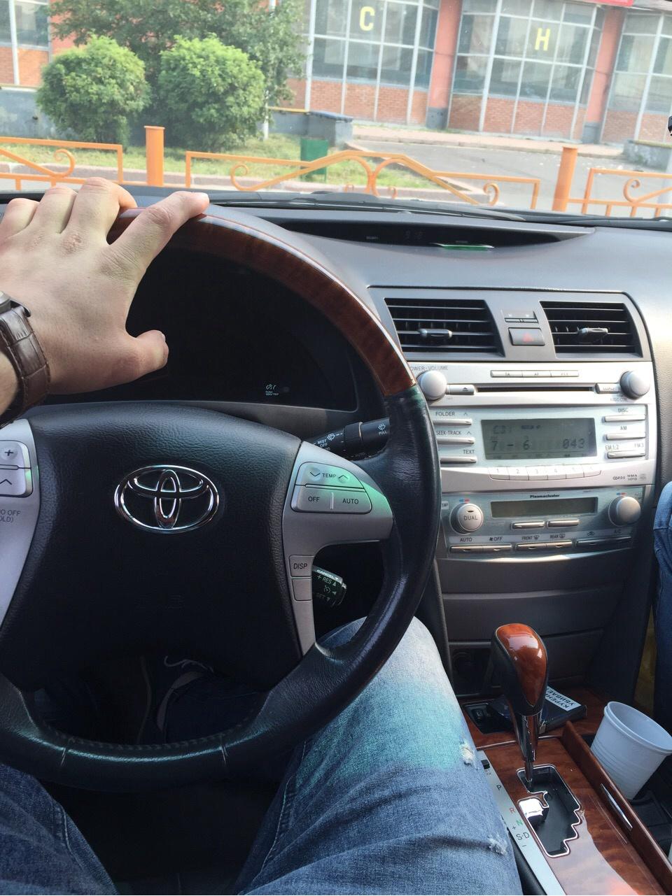 Подержанный Toyota Camry, отличное состояние, черный , 2008 года выпуска, цена 700 000 руб. в ао. Ханты-Мансийском Автономном округе - Югре