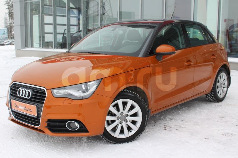 Audi A1 с пробегом, оранжевый , отличное состояние, 2013 года выпуска, цена 769 000 руб. в автосалоне  ()