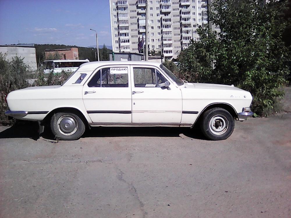 Подержанный ГАЗ 24 Волга, хорошее состояние, бежевый , 1983 года выпуска, цена 40 000 руб. в Челябинской области