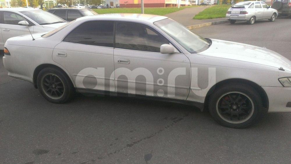 Подержанный Toyota Mark II, хорошее состояние, белый , 1993 года выпуска, цена 165 000 руб. в республике Татарстане