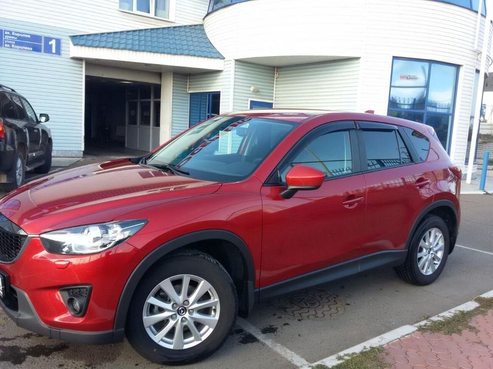 Подержанный Mazda CX-5, отличное состояние, вишневый металлик, 2014 года выпуска, цена 1 105 000 руб. в республике Татарстане