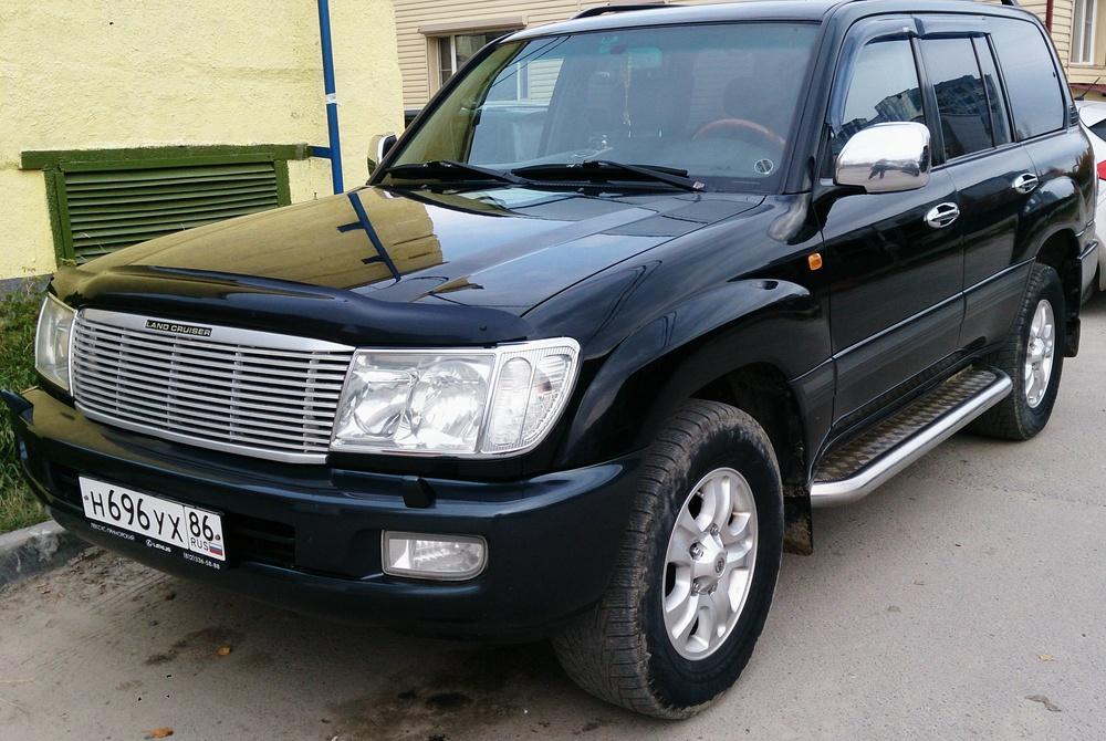 Подержанный Toyota Land Cruiser, хорошее состояние, черный , 2007 года выпуска, цена 1 360 000 руб. в ао. Ханты-Мансийском Автономном округе - Югре