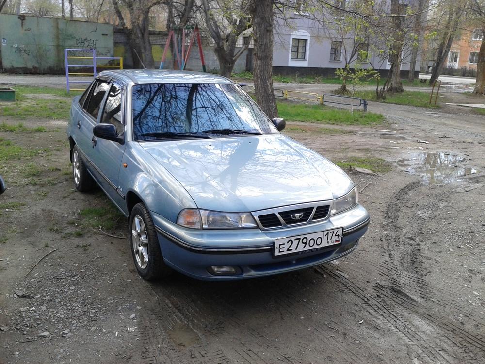 Подержанный Daewoo Nexia, хорошее состояние, голубой , 2006 года выпуска, цена 90 000 руб. в Челябинской области