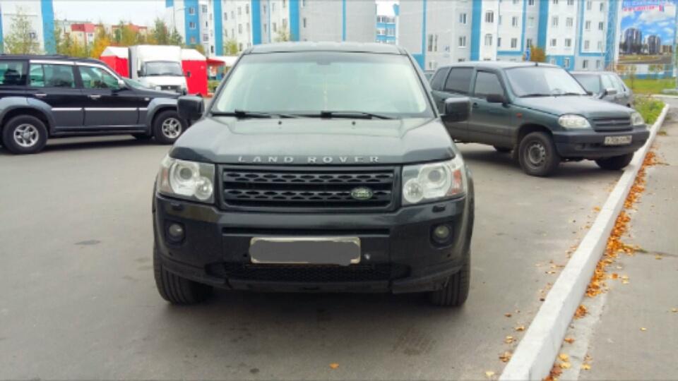Подержанный Land Rover Freelander, хорошее состояние, черный , 2012 года выпуска, цена 1 100 000 руб. в ао. Ханты-Мансийском Автономном округе - Югре