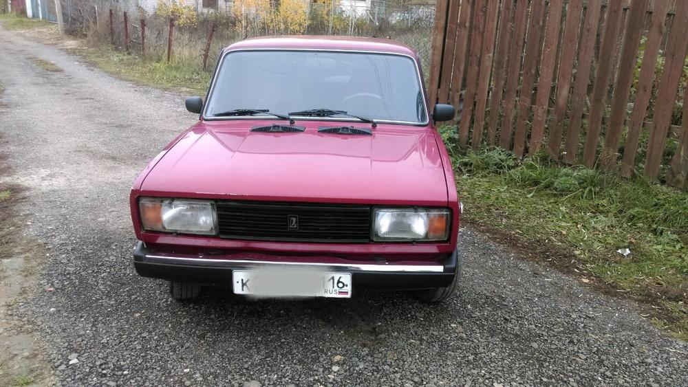 Подержанный ВАЗ (Lada) 2105, хорошее состояние, красный , 2008 года выпуска, цена 60 000 руб. в республике Татарстане