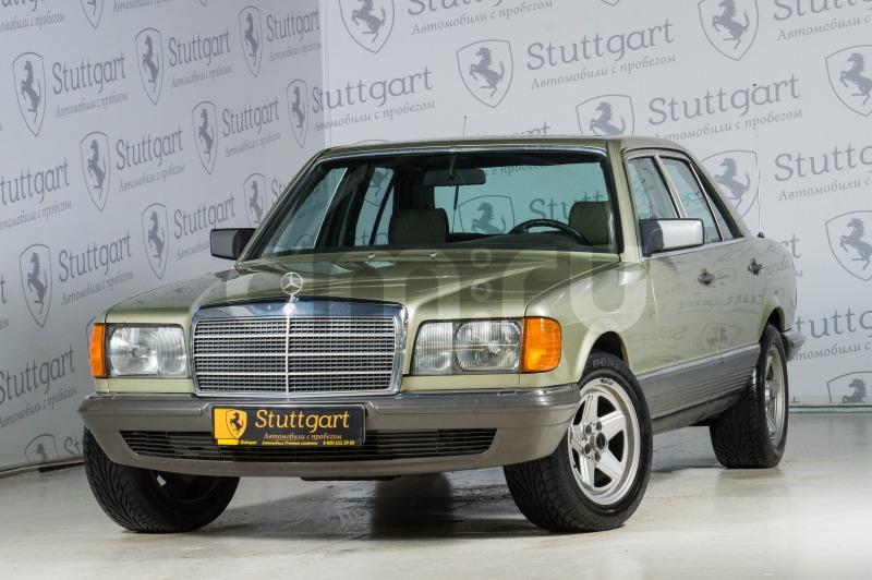 Mercedes-Benz S-Класс с пробегом, зеленый , отличное состояние, 1983 года выпуска, цена 990 000 руб. в автосалоне Stuttgart (Екатеринбург, ул. Металлургов, д. 84(напротив ТЦ «Мега»))