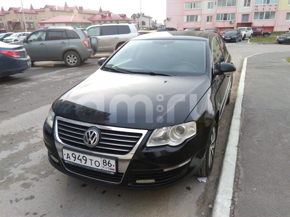 Подержанный Volkswagen Passat, хорошее состояние, черный , 2007 года выпуска, цена 450 000 руб. в ао. Ханты-Мансийском Автономном округе - Югре