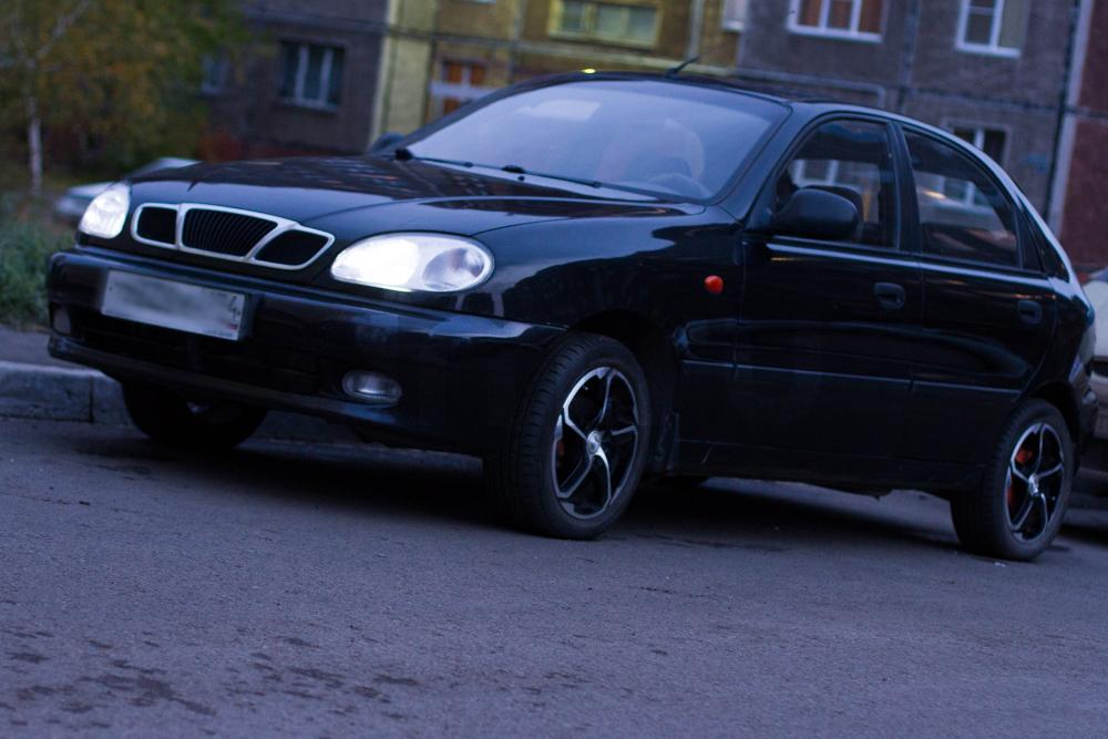 Подержанный ЗАЗ Chance, хорошее состояние, черный , 2010 года выпуска, цена 130 000 руб. в Челябинской области
