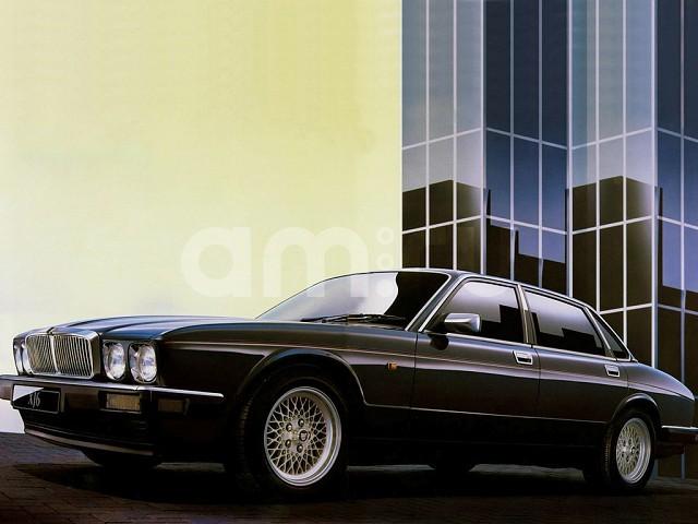 Подержанный Jaguar XJ, битый состояние, синий металлик, 1994 года выпуска, цена 150 000 руб. в ао. Ханты-Мансийском Автономном округе - Югре