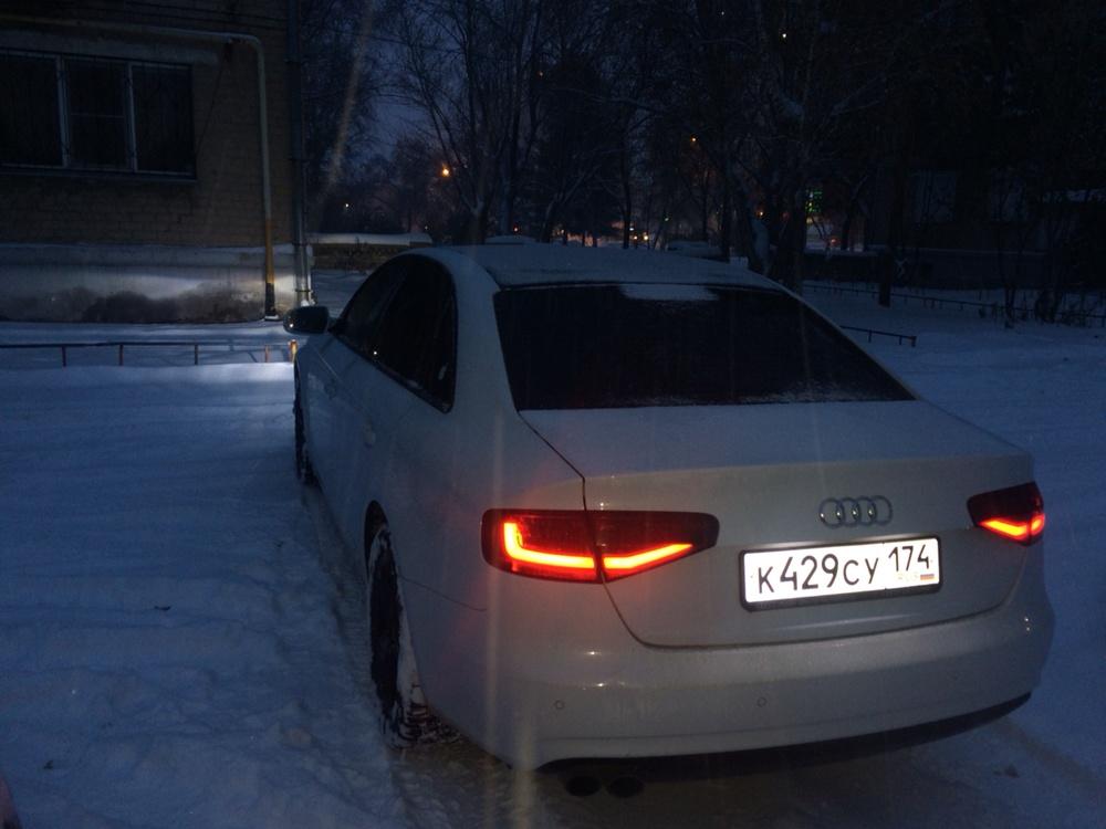 Подержанный Audi A4, отличное состояние, белый , 2013 года выпуска, цена 1 000 000 руб. в Челябинской области