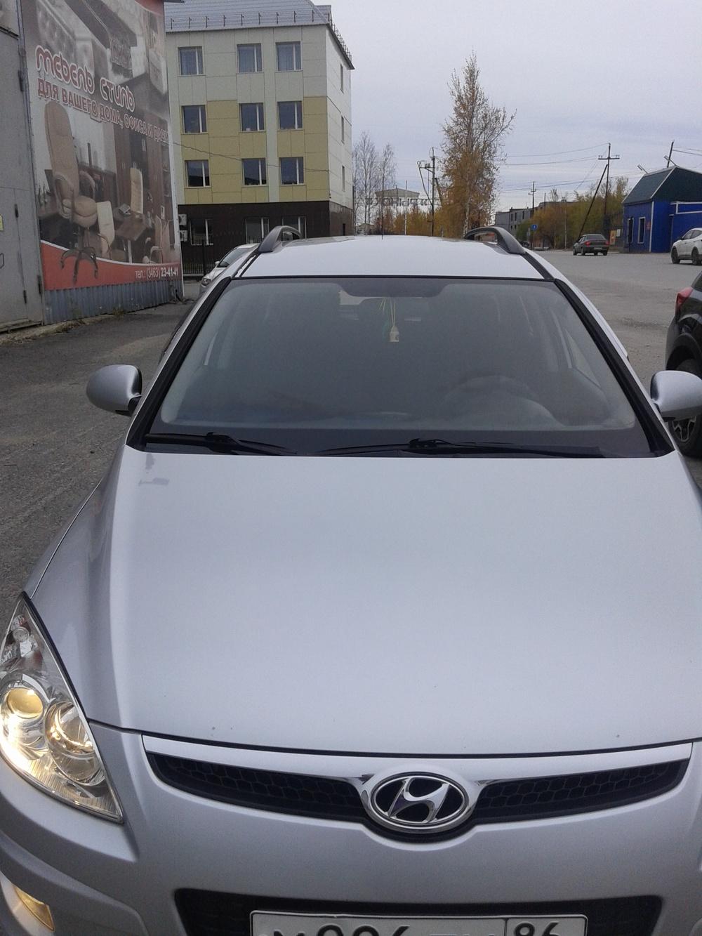 Подержанный Hyundai i30, среднее состояние, серый , 2009 года выпуска, цена 360 000 руб. в ао. Ханты-Мансийском Автономном округе - Югре