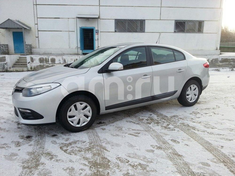 Подержанный Renault Fluence, отличное состояние, серебряный , 2013 года выпуска, цена 515 000 руб. в Челябинской области