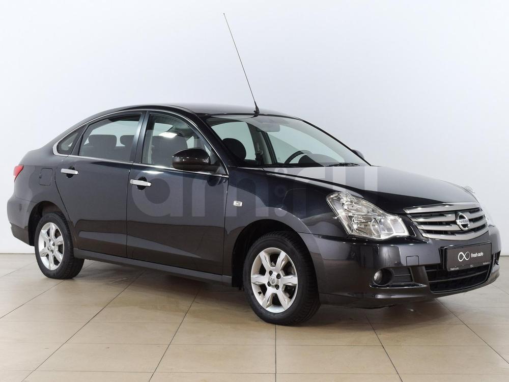 Nissan Almera с пробегом, черный металлик, отличное состояние, 2013 года выпуска, цена 479 000 руб. в автосалоне  ()