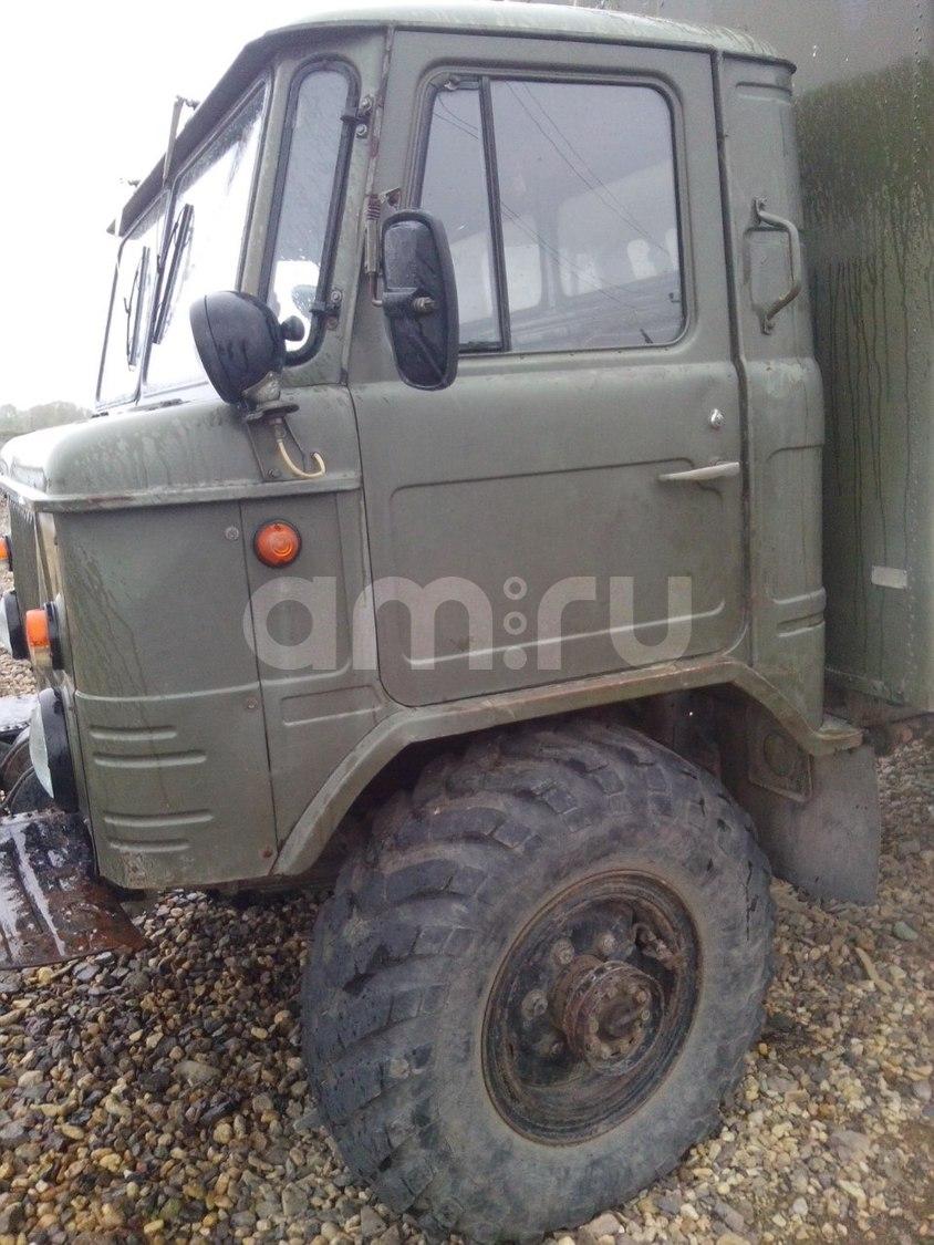 Подержанный ГАЗ 66, хорошее состояние, зеленый , 1989 года выпуска, цена 210 000 руб. в Челябинской области