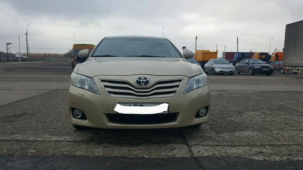 Подержанный Toyota Camry, отличное состояние, золотой металлик, 2010 года выпуска, цена 710 000 руб. в республике Татарстане
