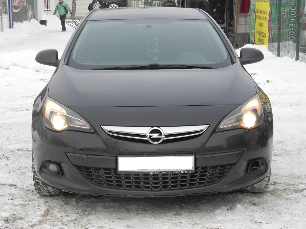 Opel Astra с пробегом, черный , хорошее состояние, 2012 года выпуска, цена 510 000 руб. в автосалоне  ()