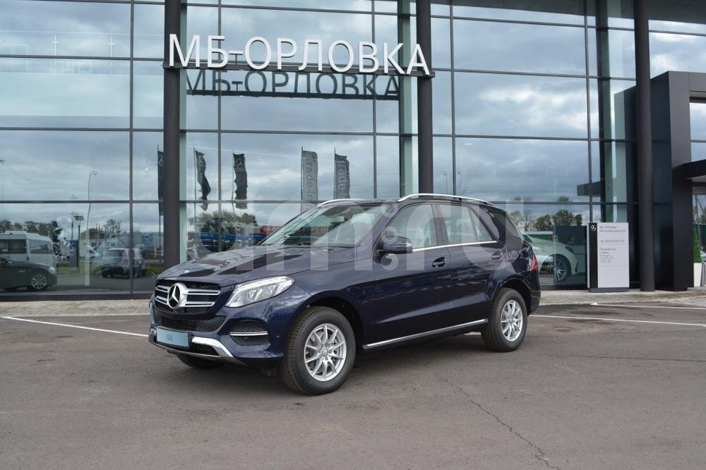 Новый авто Mercedes-Benz GLE-Класс, синий металлик, 2016 года выпуска, цена 3 950 000 руб. в автосалоне МБ-Орловка (Набережные Челны, тракт Мензелинский, д. 24)