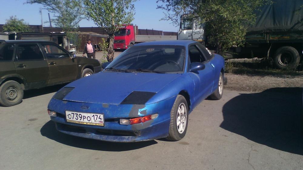 Подержанный Ford Probe, хорошее состояние, синий , 1995 года выпуска, цена 90 000 руб. в Челябинской области