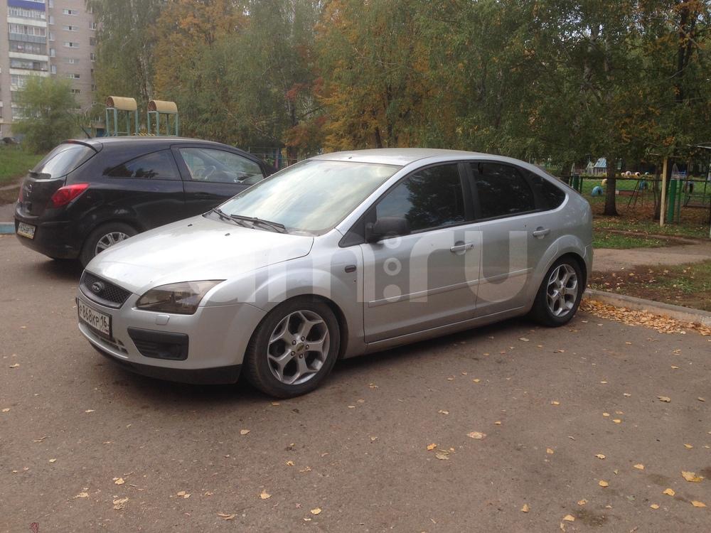 Подержанный Ford Focus, хорошее состояние, серебряный , 2006 года выпуска, цена 255 000 руб. в республике Татарстане