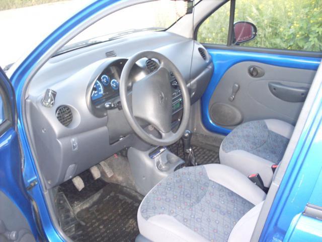 Подержанный Daewoo Matiz, отличное состояние, синий , 2011 года выпуска, цена 135 000 руб. в Челябинской области