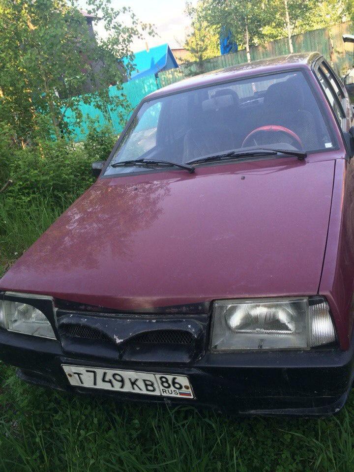 Подержанный ВАЗ (Lada) 2109, плохое состояние, пурпурный , 2000 года выпуска, цена 45 000 руб. в ао. Ханты-Мансийском Автономном округе - Югре