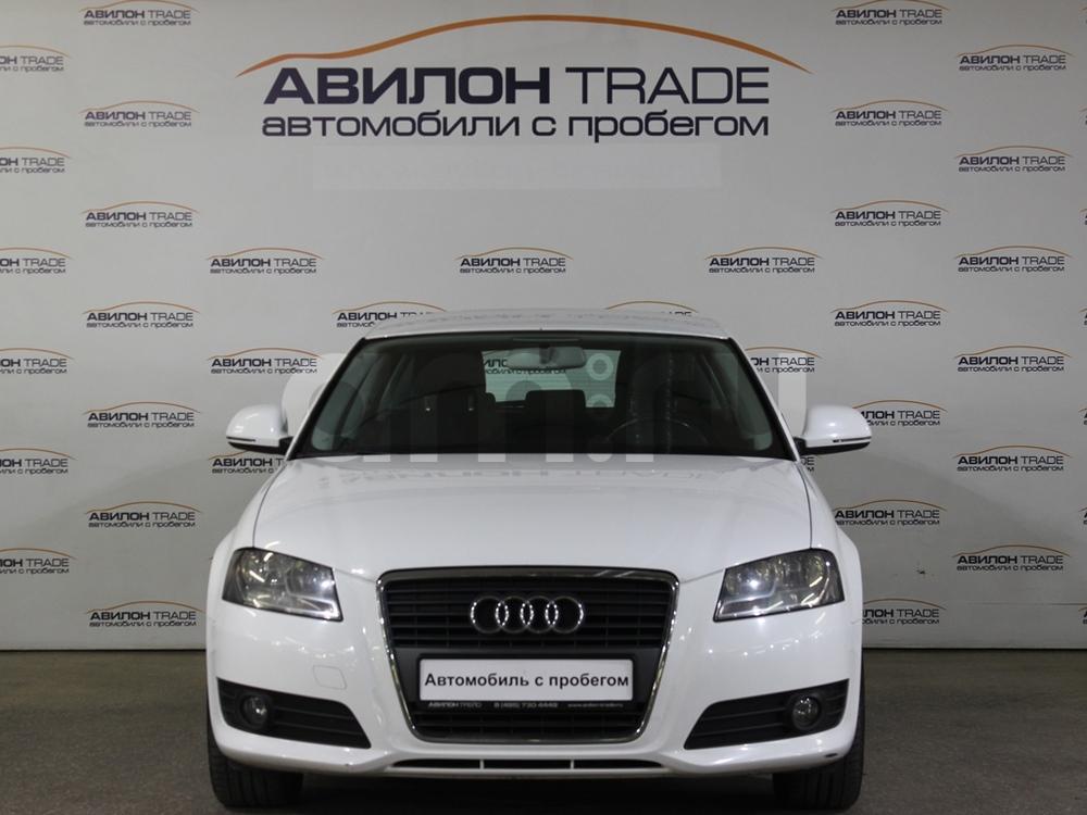 Audi A3 с пробегом, белый , среднее состояние, 2009 года выпуска, цена 455 000 руб. в автосалоне  ()