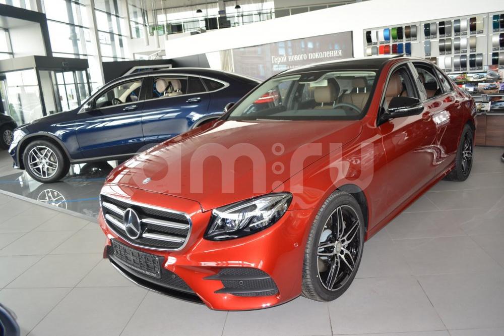 Новый авто Mercedes-Benz E-Класс, красный металлик, 2016 года выпуска, цена 3 730 000 руб. в автосалоне МБ-Орловка (Набережные Челны, тракт Мензелинский, д. 24)