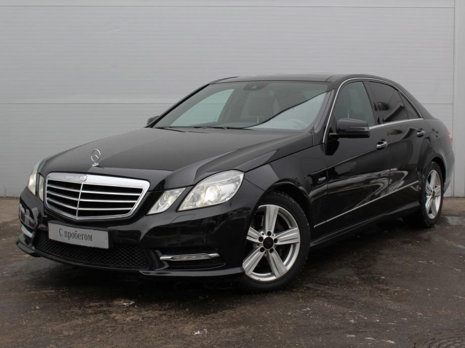 Mercedes-Benz E-Класс с пробегом, черный акрил, отличное состояние, 2011 года выпуска, цена 1 385 000 руб. в автосалоне  ()