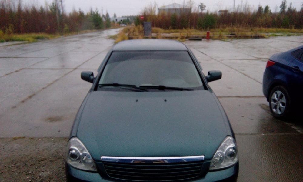 Подержанный ВАЗ (Lada) Priora, отличное состояние, серый , 2010 года выпуска, цена 160 000 руб. в ао. Ханты-Мансийском Автономном округе - Югре