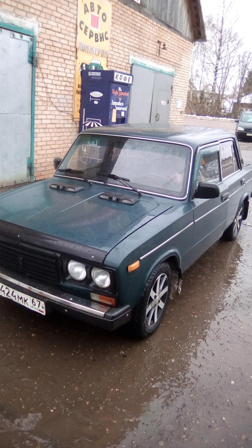 Подержанный ВАЗ (Lada) 2106, отличное состояние, зеленый , 2000 года выпуска, цена 59 000 руб. в Смоленской области