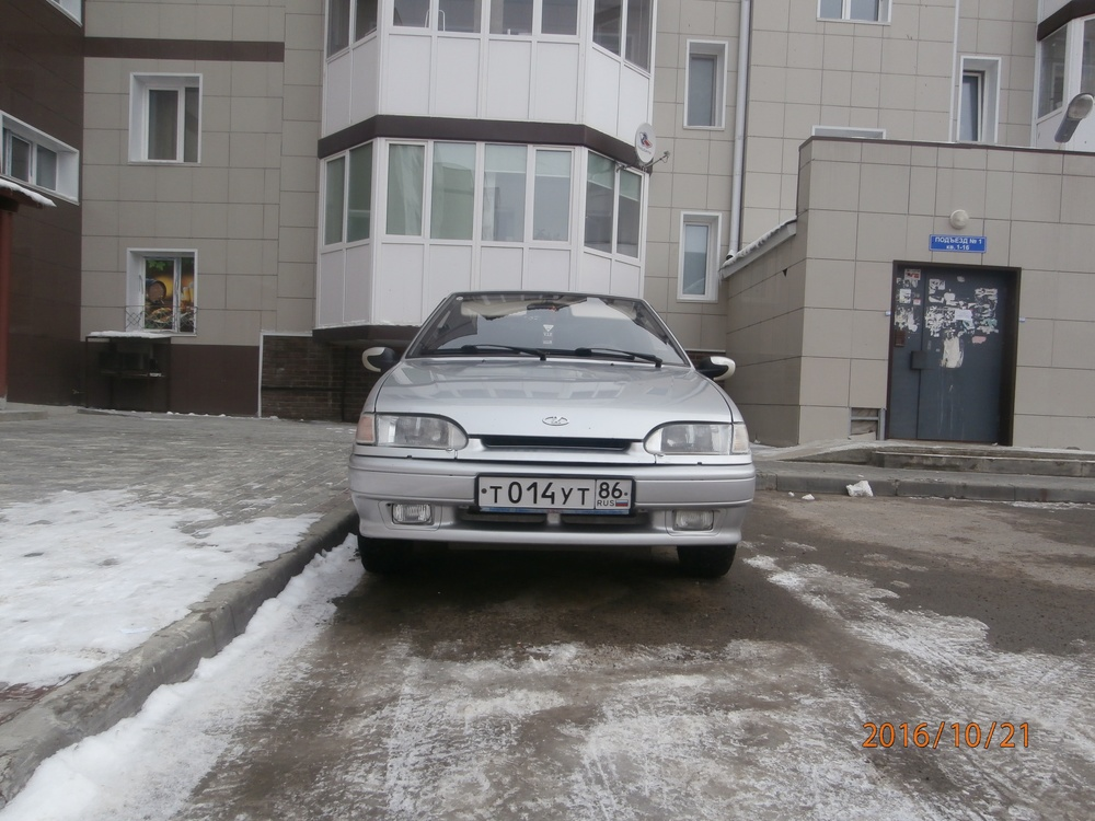 Подержанный ВАЗ (Lada) 2114, хорошее состояние, серебряный металлик, 2011 года выпуска, цена 165 000 руб. в ао. Ханты-Мансийском Автономном округе - Югре