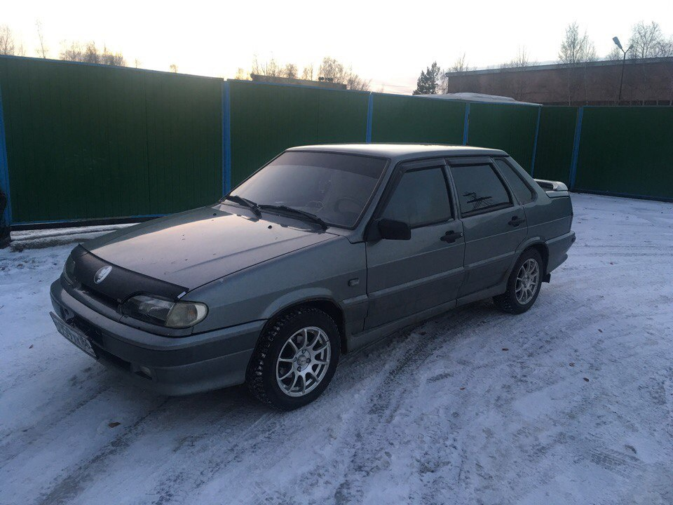 Подержанный ВАЗ (Lada) 2115, хорошее состояние, серый , 2007 года выпуска, цена 155 000 руб. в ао. Ханты-Мансийском Автономном округе - Югре