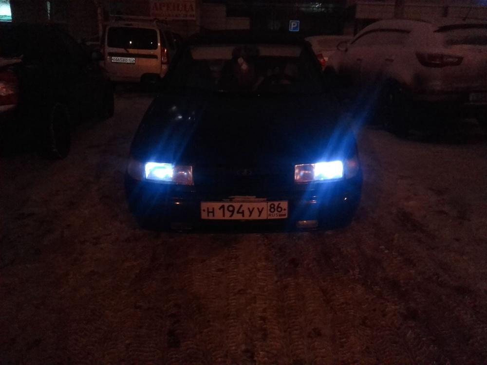 Подержанный ВАЗ (Lada) 2112, отличное состояние, синий , 2002 года выпуска, цена 100 000 руб. в ао. Ханты-Мансийском Автономном округе - Югре