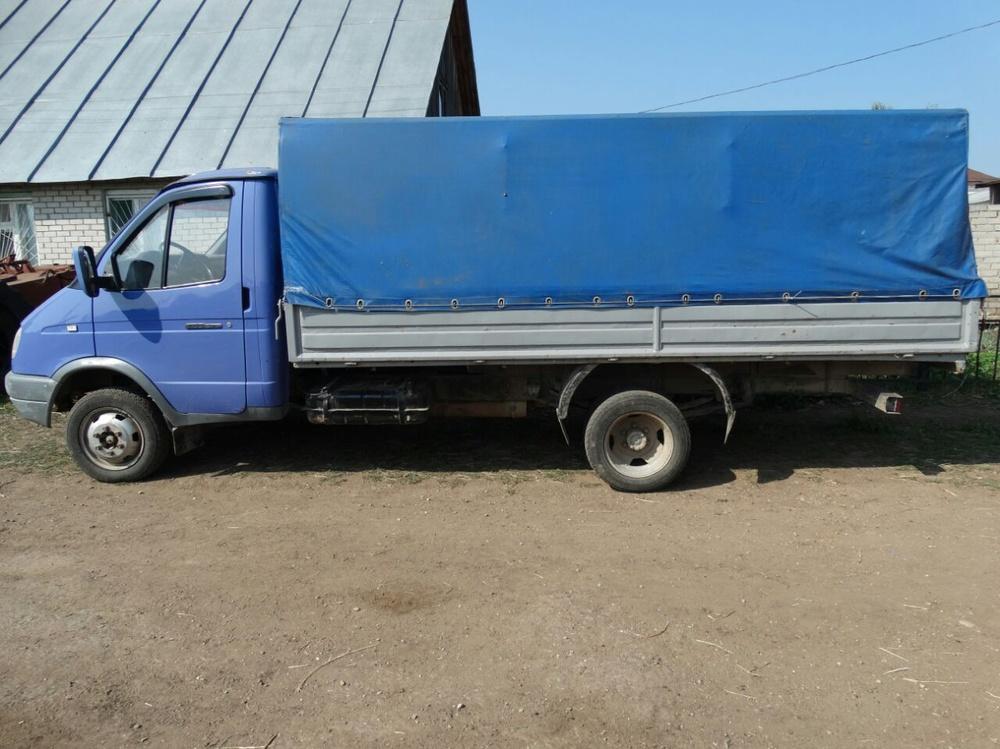 Подержанный ГАЗ Газель, хорошее состояние, синий , 2006 года выпуска, цена 250 000 руб. в республике Татарстане