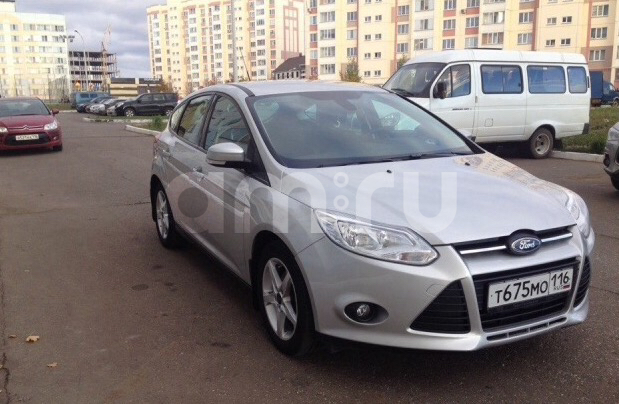 Подержанный Ford Focus, отличное состояние, серебряный металлик, 2013 года выпуска, цена 600 000 руб. в республике Татарстане