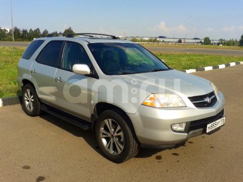 Подержанный Acura MDX, хорошее состояние, серебряный металлик, 2001 года выпуска, цена 480 000 руб. в республике Татарстане